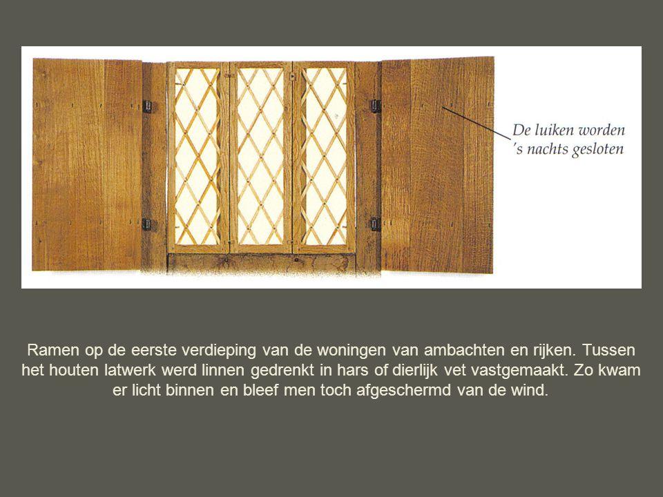 Leven in een middeleeuwse stad ppt download - Latwerk houten ...
