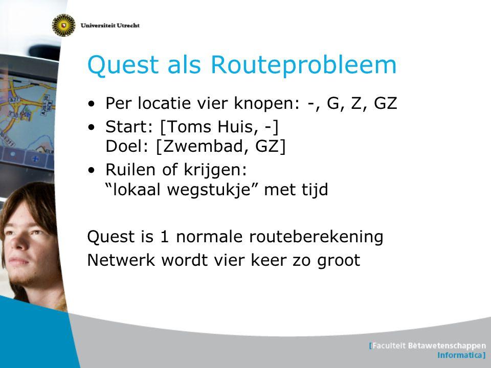 Quest als Routeprobleem
