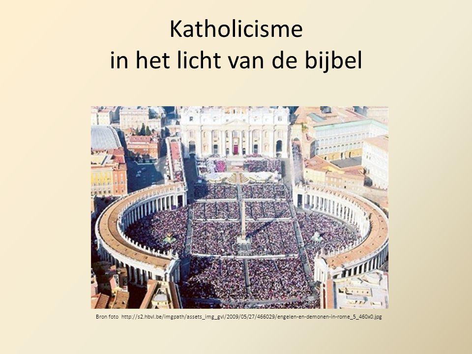 Katholicisme in het licht van de bijbel