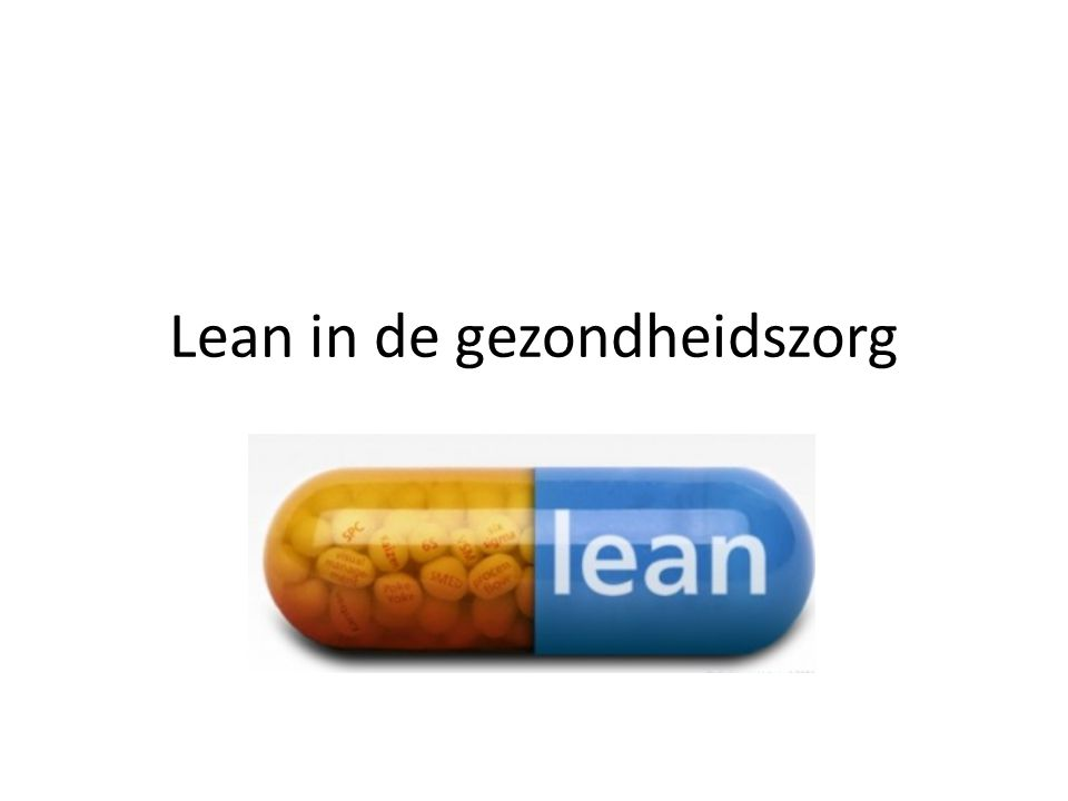 Lean in de gezondheidszorg