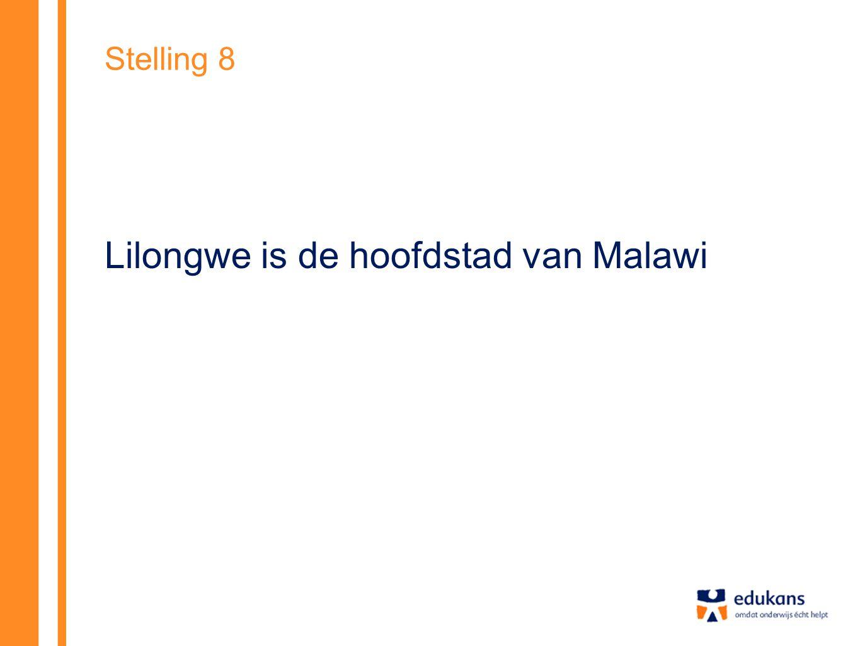 Lilongwe is de hoofdstad van Malawi