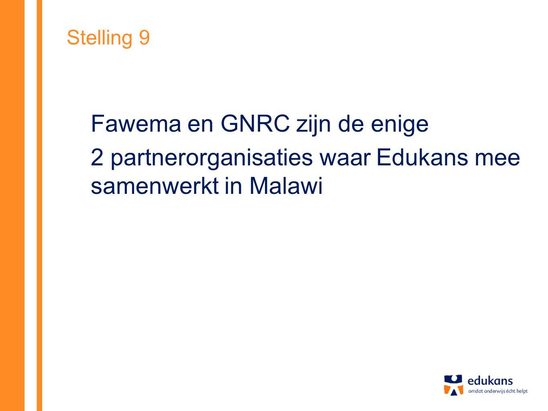 2 partnerorganisaties waar Edukans mee samenwerkt in Malawi