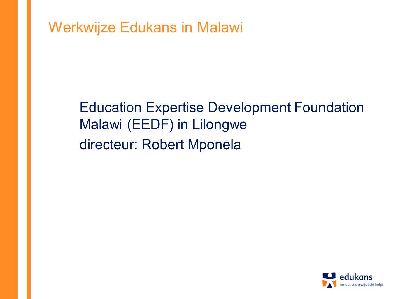 Werkwijze Edukans in Malawi