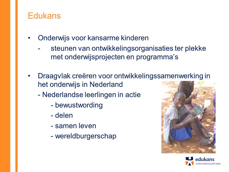 Edukans Onderwijs voor kansarme kinderen