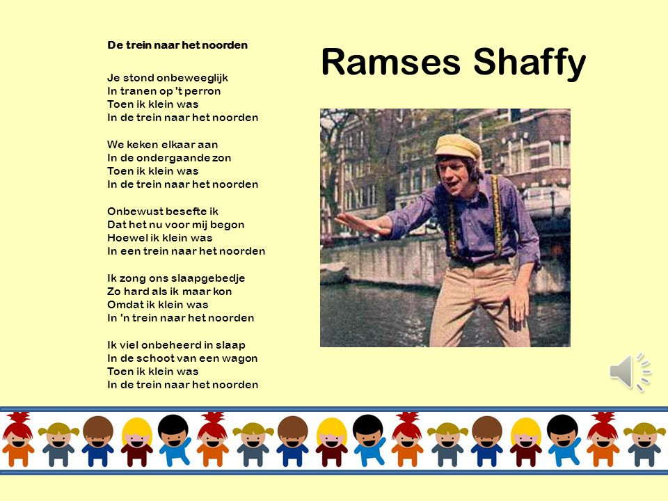 Ramses Shaffy De trein naar het noorden