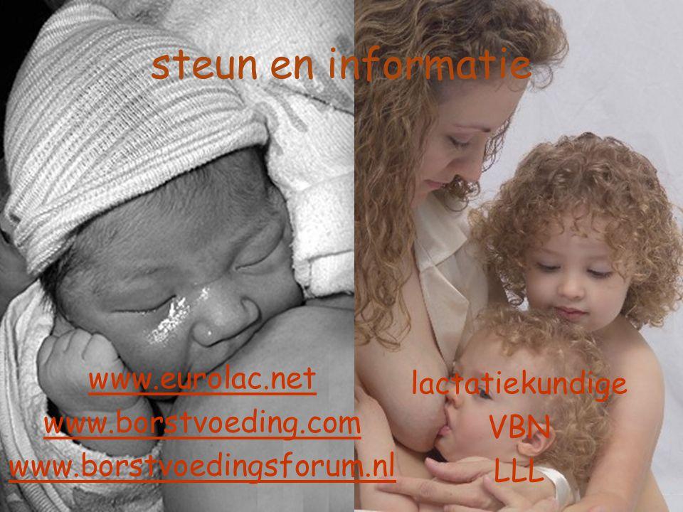 steun en informatie www.eurolac.net lactatiekundige