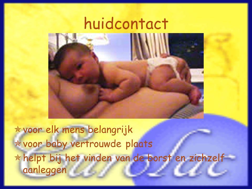 huidcontact voor elk mens belangrijk voor baby vertrouwde plaats