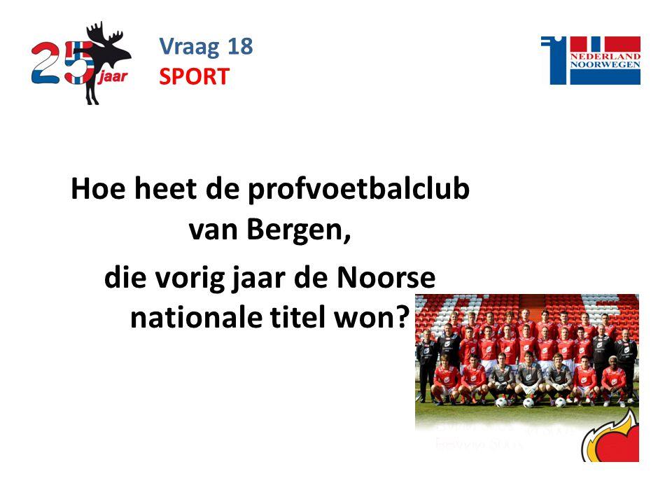 Hoe heet de profvoetbalclub van Bergen,