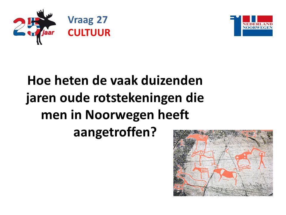 Vraag 27 cultuur.