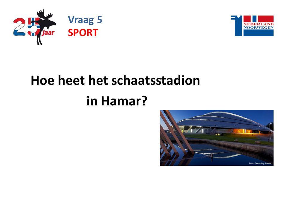 Hoe heet het schaatsstadion in Hamar