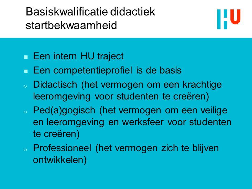 Basiskwalificatie didactiek startbekwaamheid