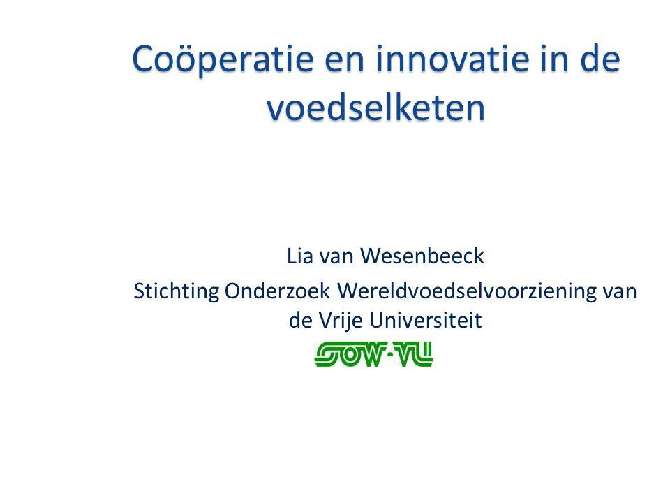 Coöperatie en innovatie in de voedselketen