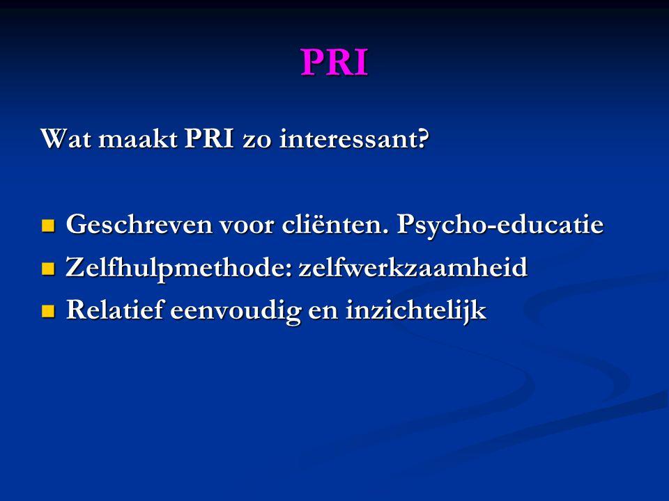 PRI Wat maakt PRI zo interessant