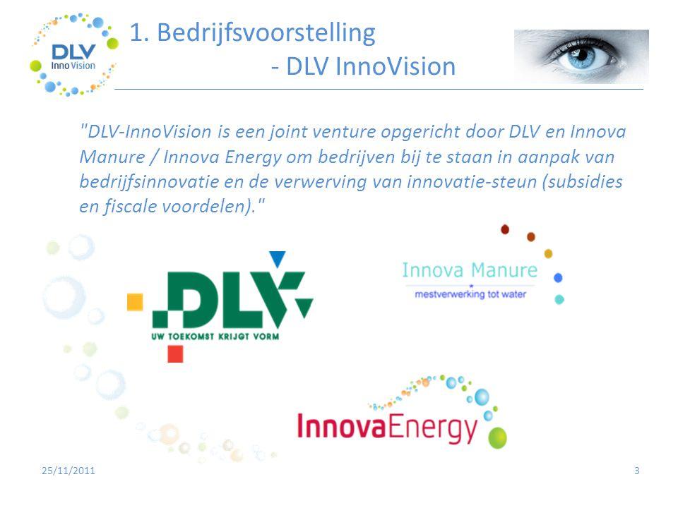 1. Bedrijfsvoorstelling - DLV InnoVision
