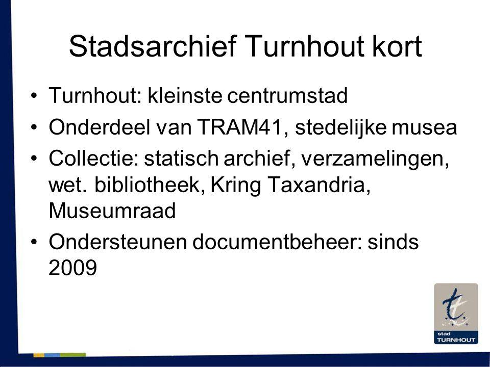 Stadsarchief Turnhout kort
