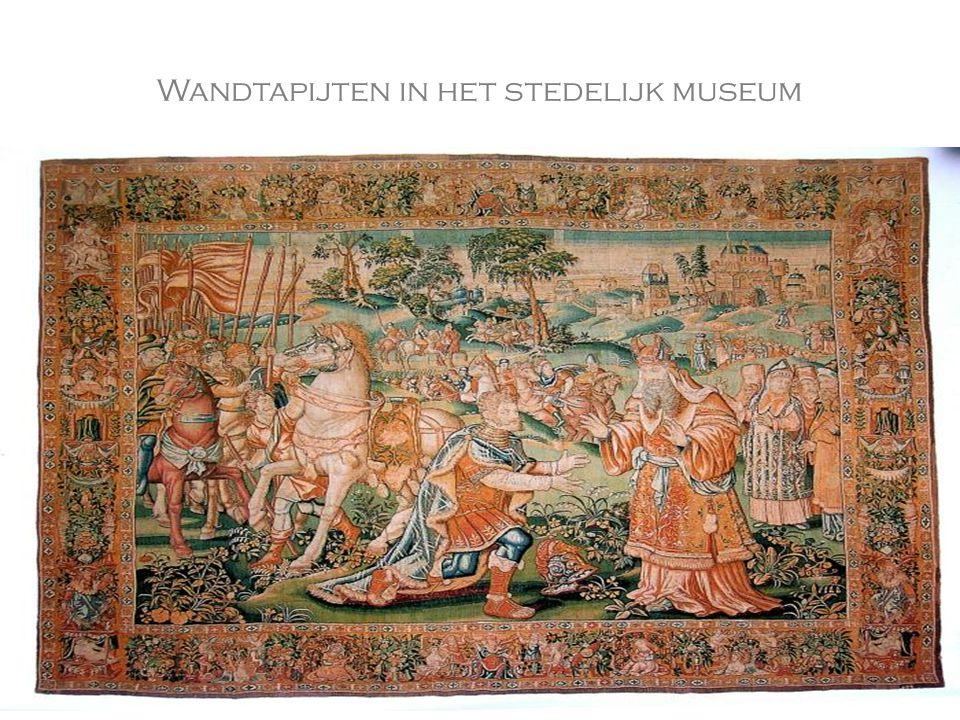 Wandtapijten in het stedelijk museum