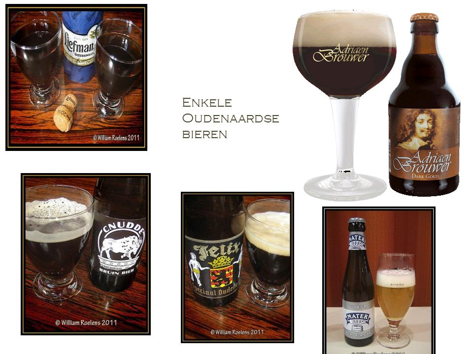 Enkele Oudenaardse bieren