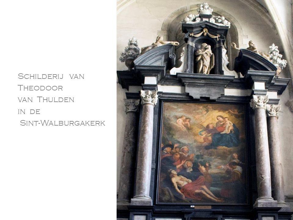 Schilderij van Theodoor van Thulden in de Sint-Walburgakerk