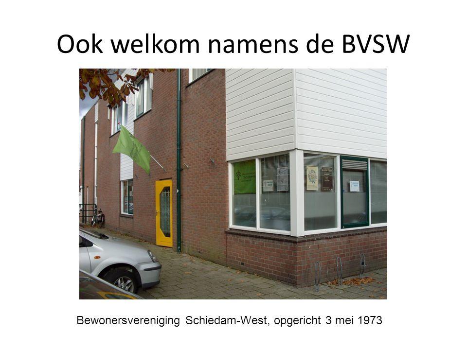 Ook welkom namens de BVSW