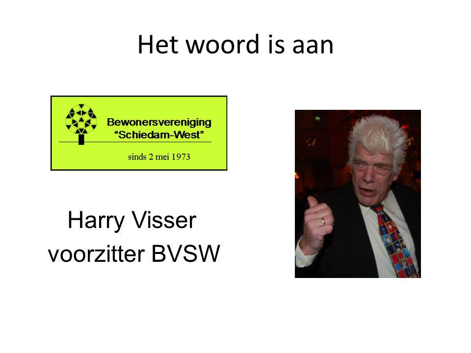 Harry Visser voorzitter BVSW
