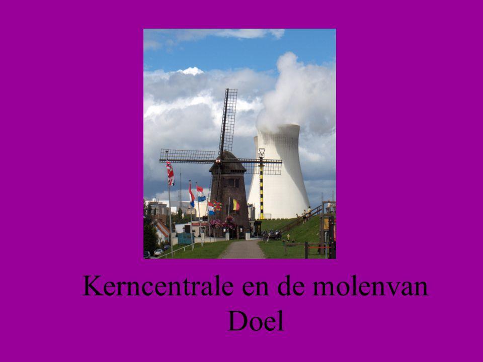 Kerncentrale en de molenvan Doel