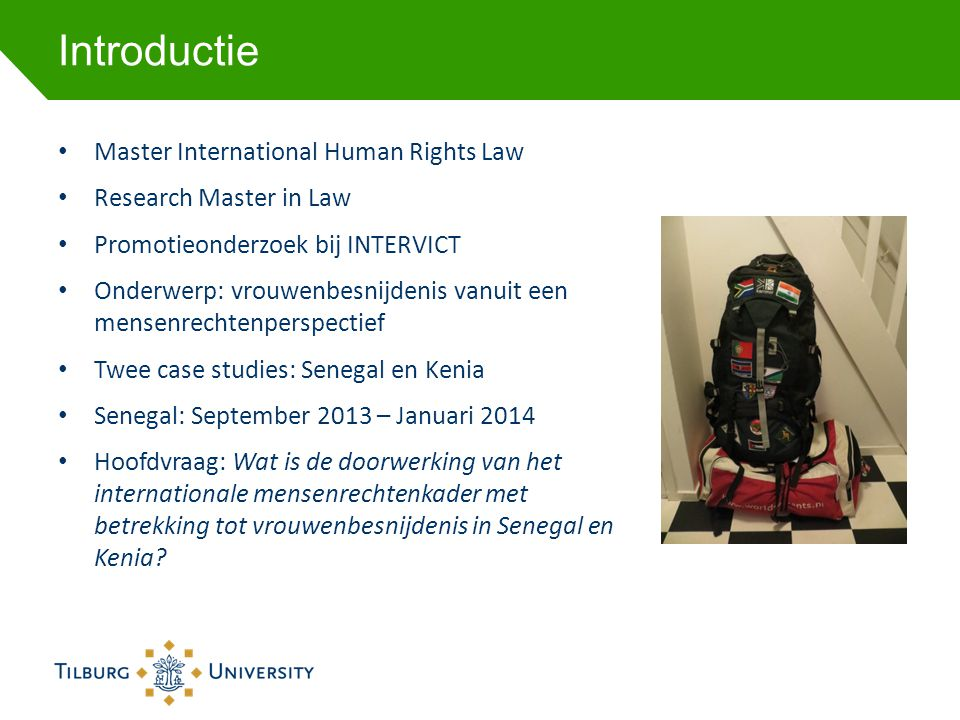 Introductie Master International Human Rights Law