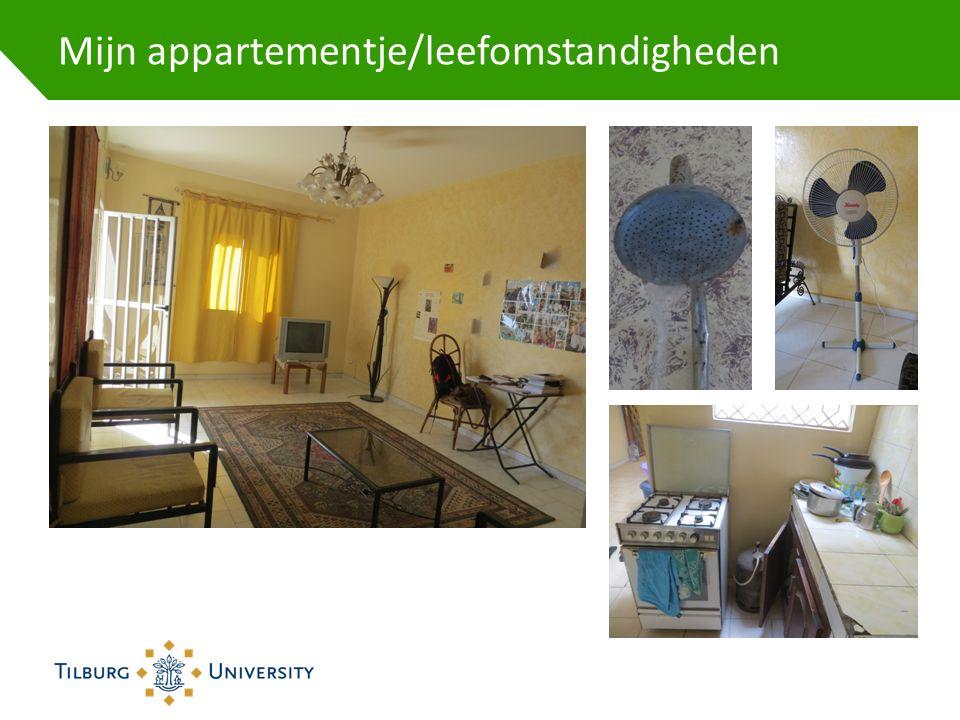 Mijn appartementje/leefomstandigheden