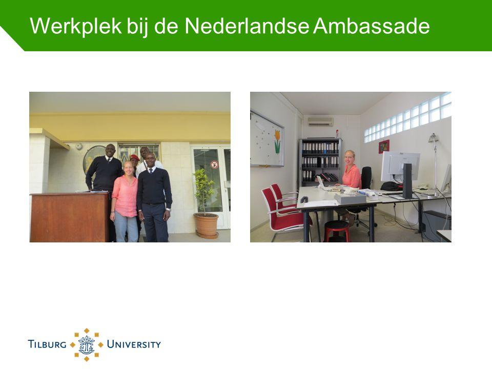 Werkplek bij de Nederlandse Ambassade