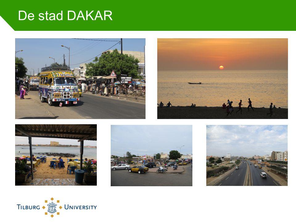 De stad DAKAR