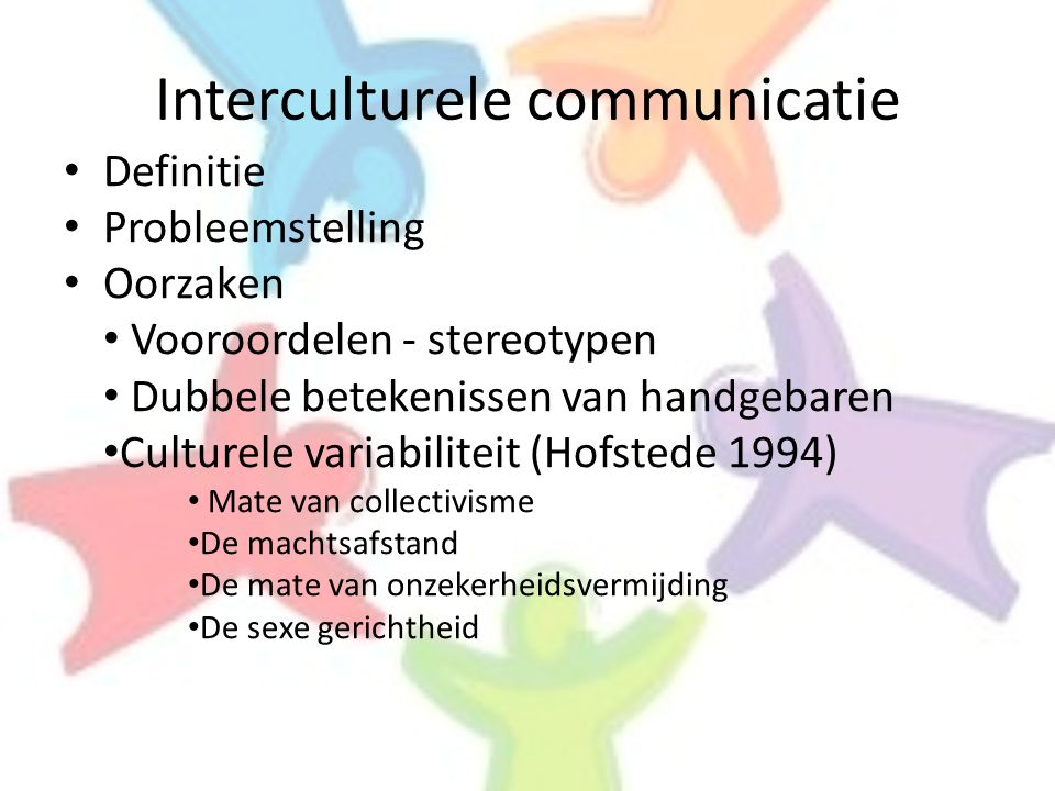 Interculturele communicatie