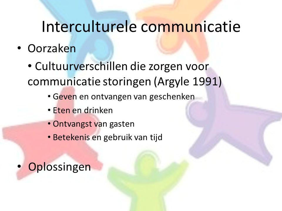 Interculturele communicatie