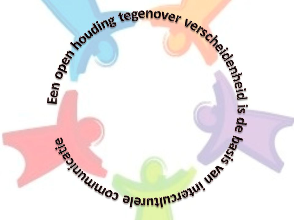 Een open houding tegenover verscheidenheid is de basis van interculturele communicatie