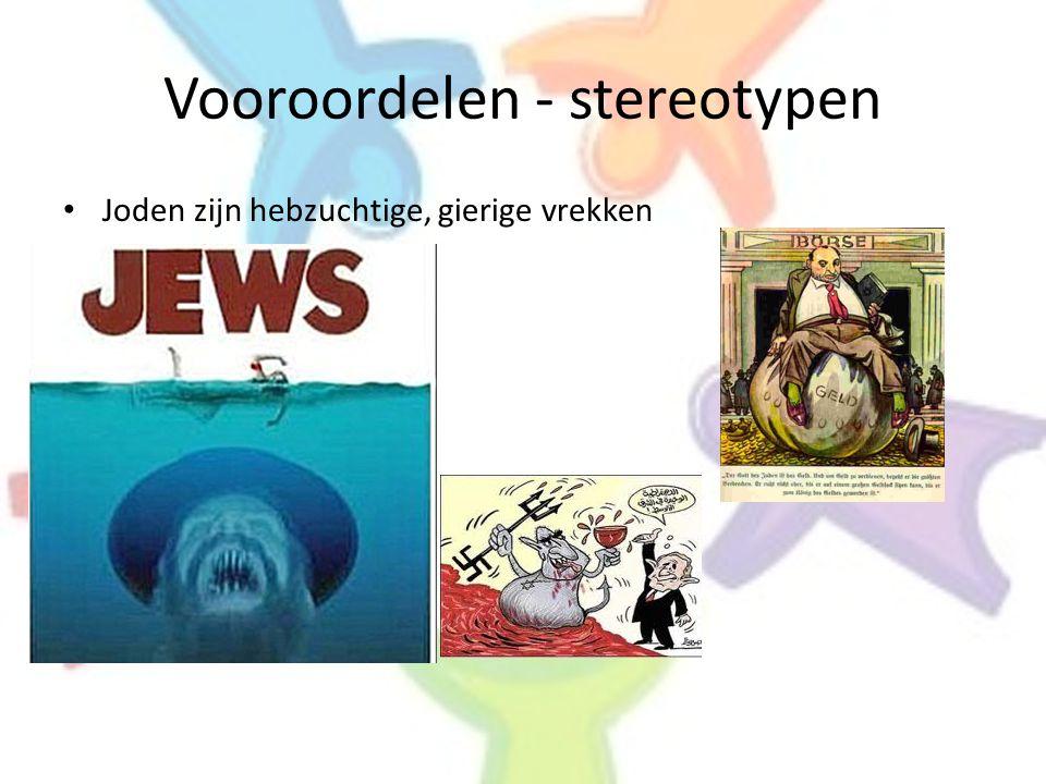 Vooroordelen - stereotypen