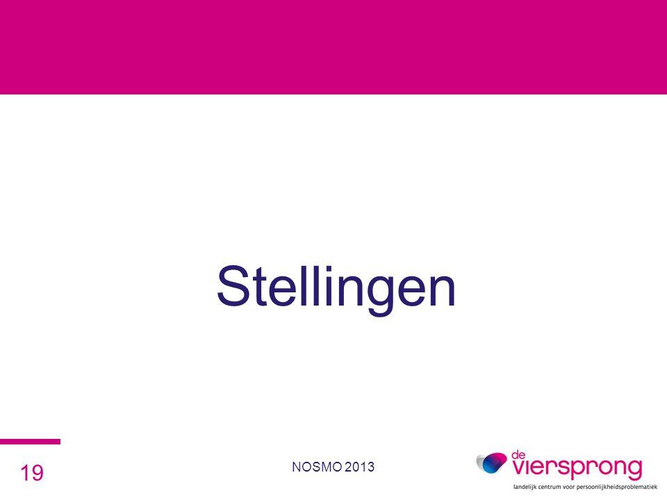 Stellingen NOSMO 2013