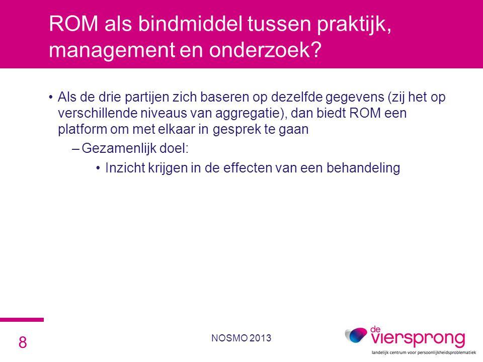 ROM als bindmiddel tussen praktijk, management en onderzoek