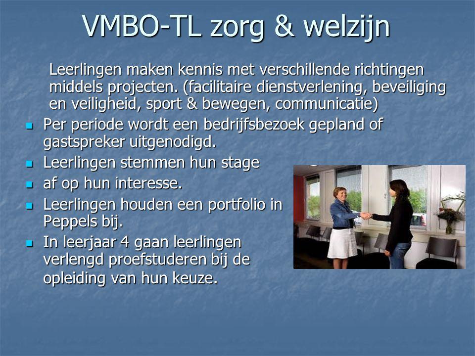 VMBO-TL zorg & welzijn