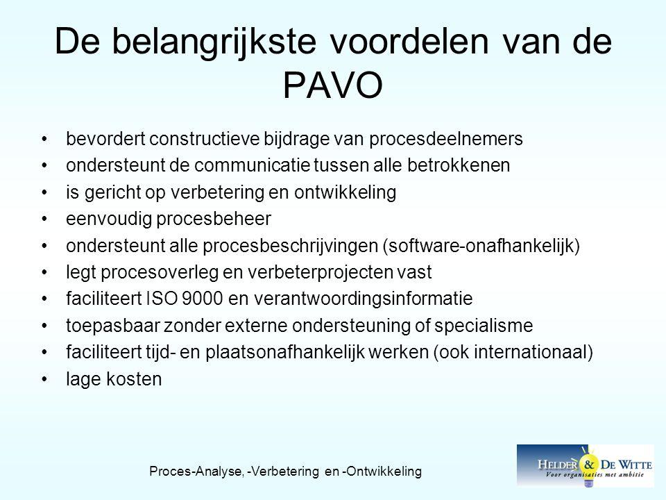 De belangrijkste voordelen van de PAVO