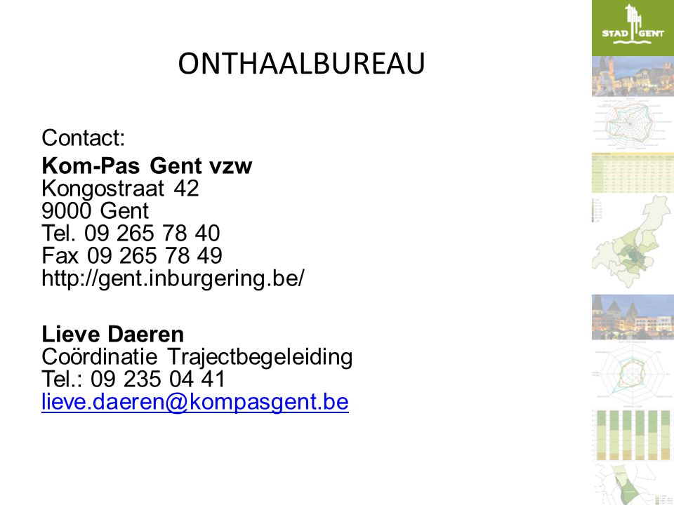 ONTHAALBUREAU Contact: