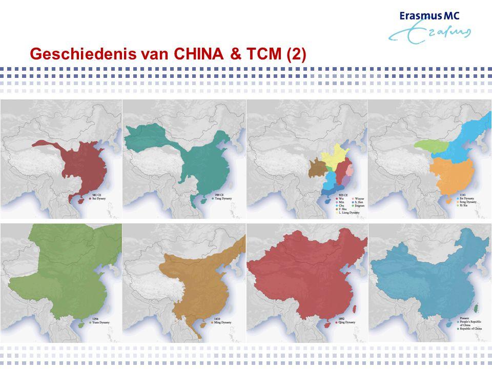 Geschiedenis van CHINA & TCM (2)