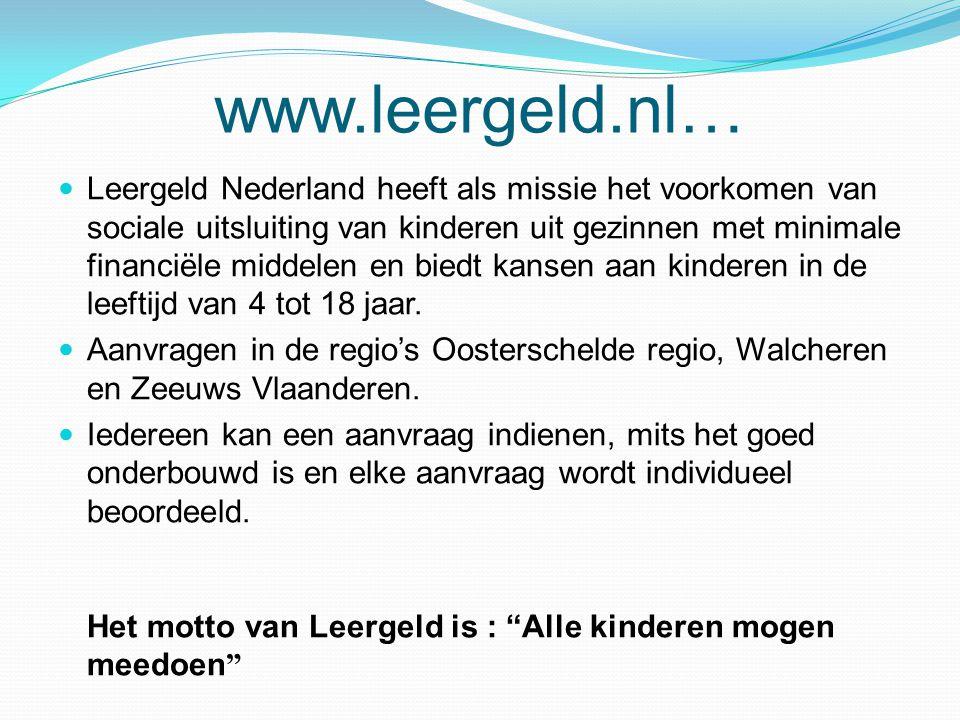 www.leergeld.nl…