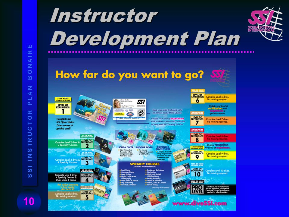 Instructor Development Plan