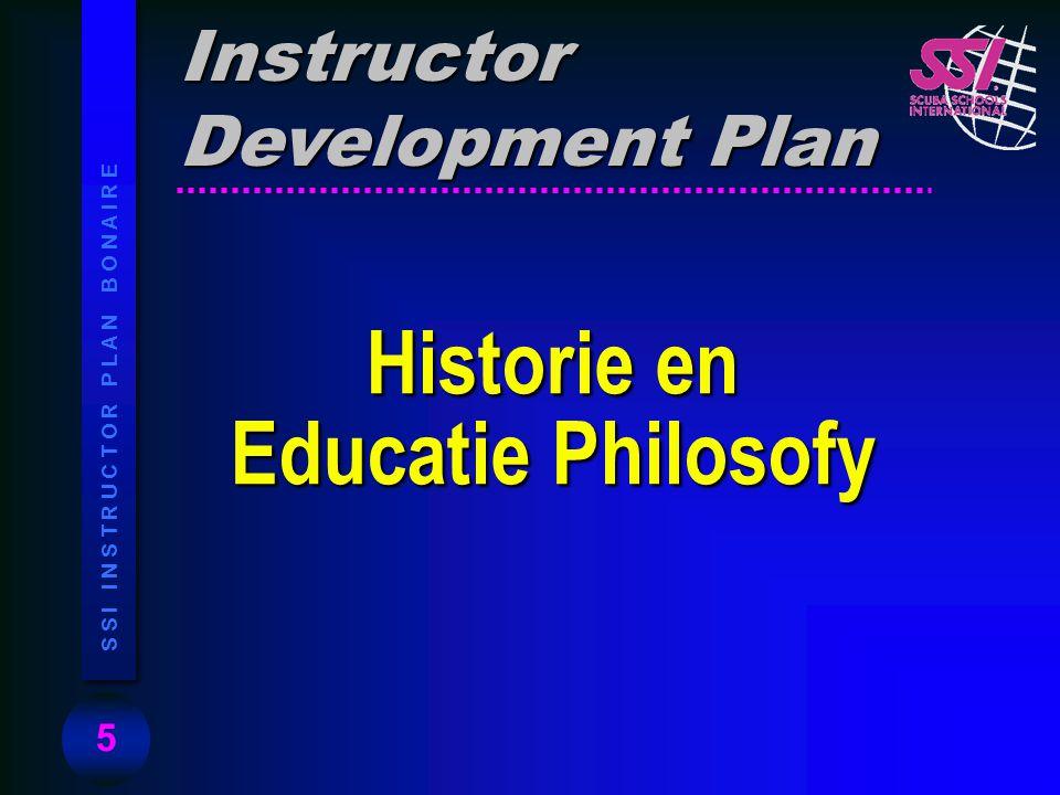 Historie en Educatie Philosofy