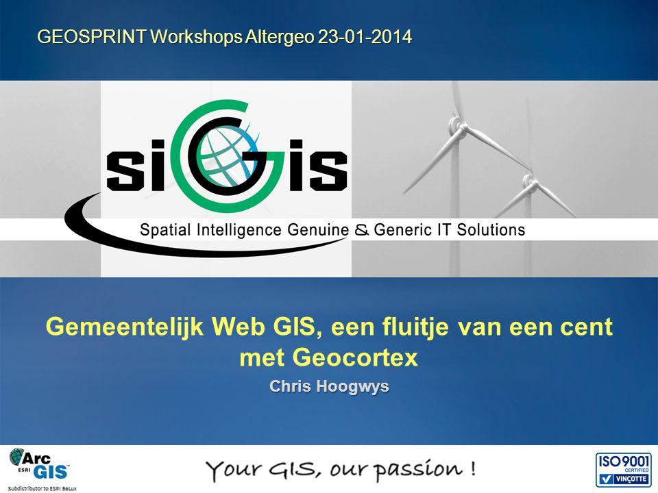 Gemeentelijk Web GIS, een fluitje van een cent met Geocortex