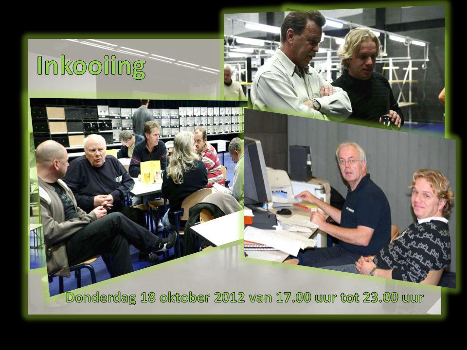 Donderdag 18 oktober 2012 van 17.00 uur tot 23.00 uur