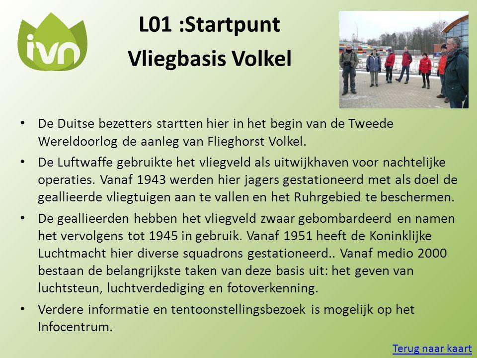 L01 :Startpunt Vliegbasis Volkel