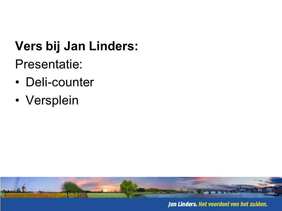 Vers bij Jan Linders: Presentatie: Deli-counter Versplein