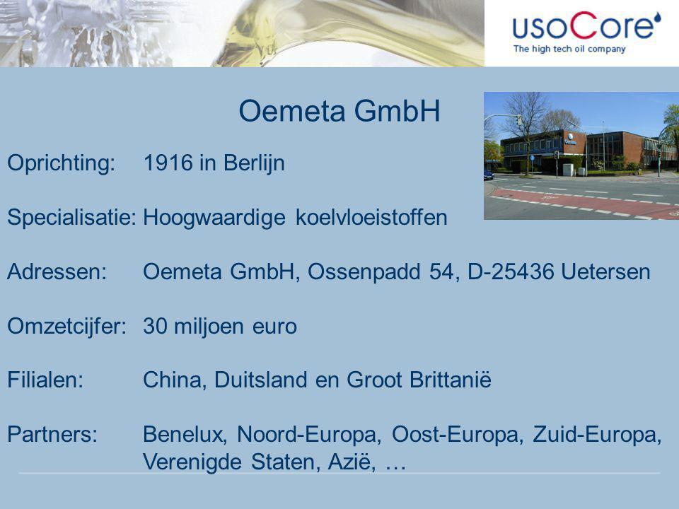 Oemeta GmbH Oprichting: 1916 in Berlijn