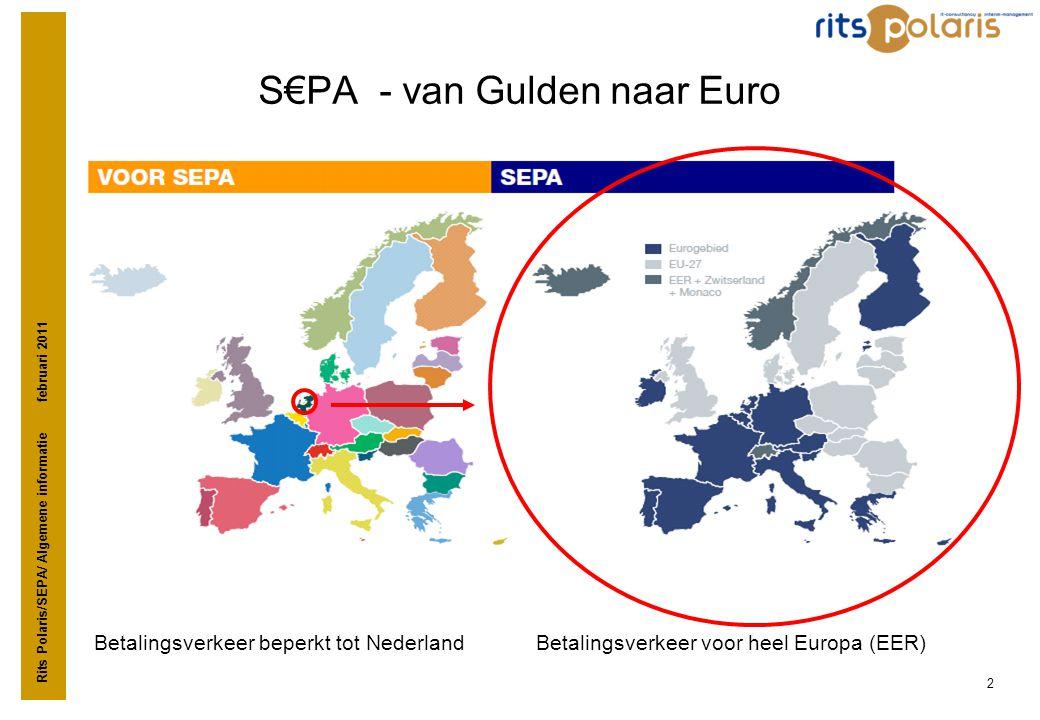S€PA - van Gulden naar Euro