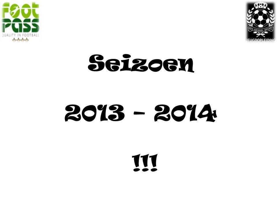 Seizoen 2013 – 2014 !!!