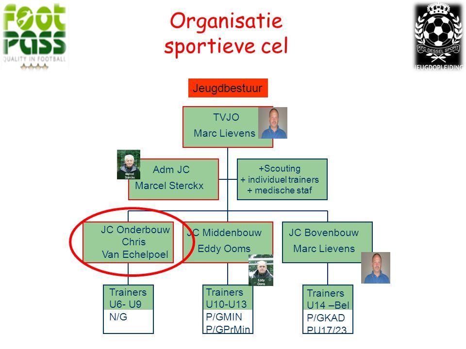 Organisatie sportieve cel